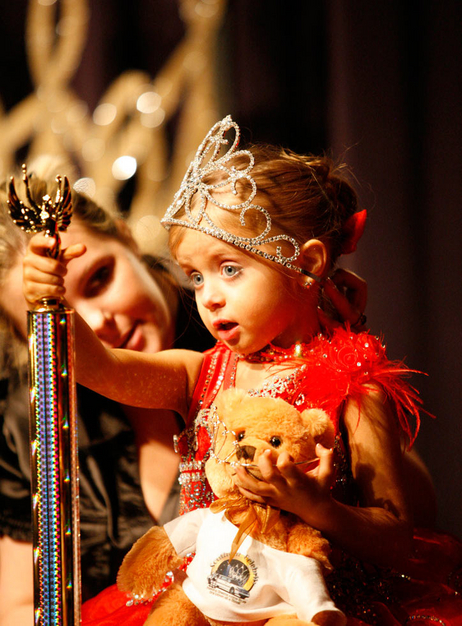 A big winner at the Southern Celebrity Beauty Pageant in Charleston, West Virginia as seen in Toddlers & Tiaras.TLC/Rebecca Drobis - Friday, January, 23, 2009, 10:23 PM